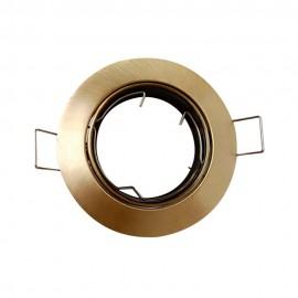 Empotrable redondo bronce satinado GU10