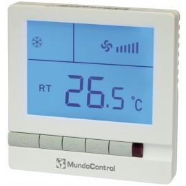 Termostato para fancoil pantalla retroiluminada Mundocontrol