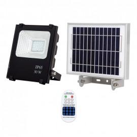 Proyector Solar Tipo Oraculo 50w 6500k Cmando