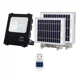 Proyector Solar Tipo Oraculo 100w 6500k Cmando