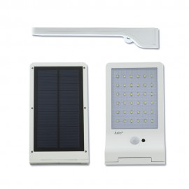 Aplique solar led blanco 3w con sensor
