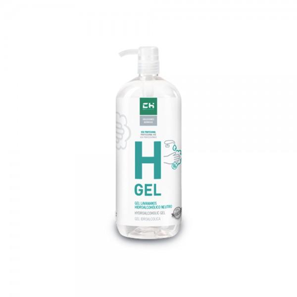 Gel desinfectante higienizante para manos de uso diario.