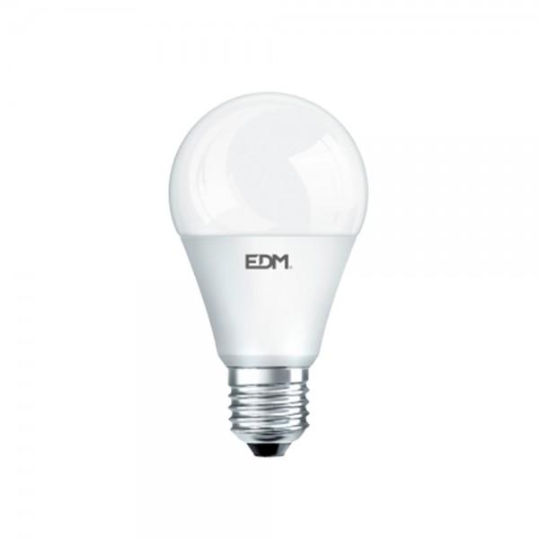Bombilla led estándar 10W E27 con sensor crepuscular EDM