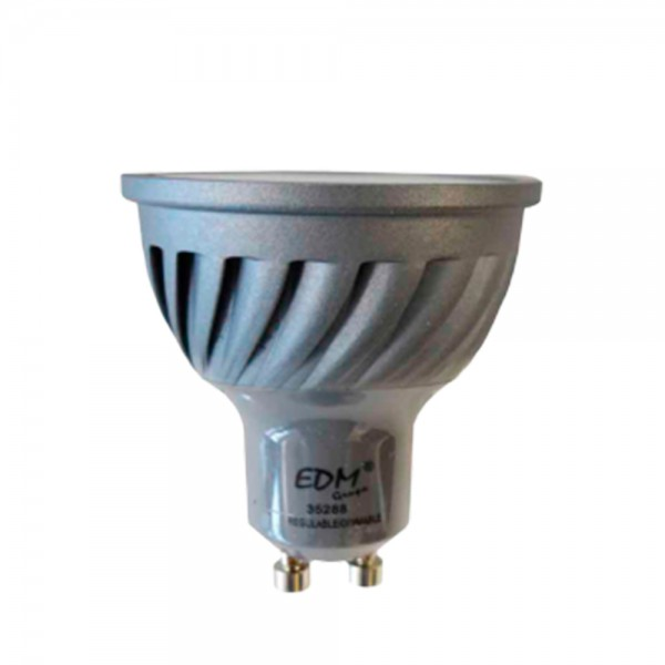 Bombilla Led GU10 Dimable 6W EDM