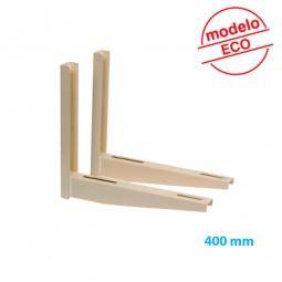 Juego soporte ECO 400 mm