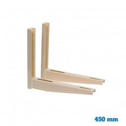Juego soporte ECO 450 mm