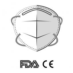 pack 5 mascarillas FFP2 con 4 capas de protección.