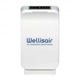 Purificador de Aire portátil Wellisair desinfecta, elimina olores y purifica.