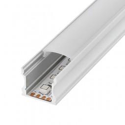 Perfil aluminio U high 2m 12V/24V