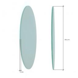 Cristal recambio downlight 18,4 cm
