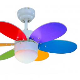Ventilador-de-techo-con-luz-multicolor-brillo-Rainbow
