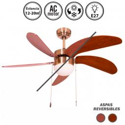 Portada-ventilador-de-techo-con-luz-serie-Cibeles-cerezo/nogal