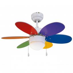 Ventilador-de-techo-led-multicolor-brillo-Rainbow