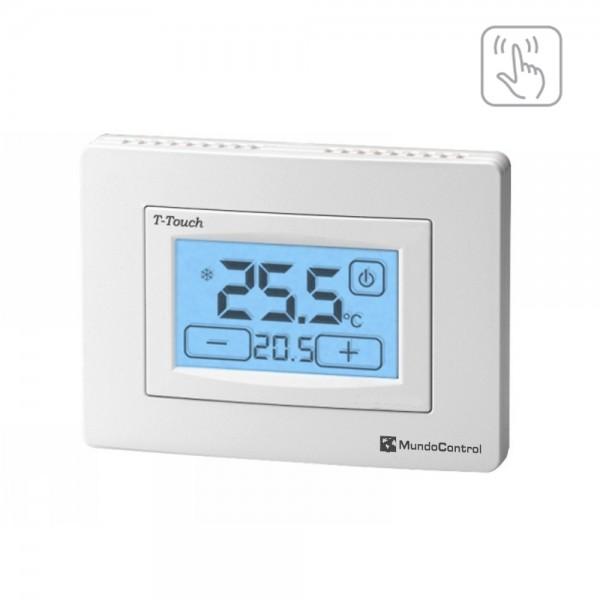 Termostato ambiente pantalla táctil T-Touch