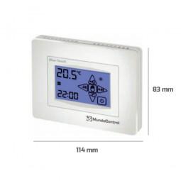 Cronotermostato ambiente pantalla táctil Blue-Touch