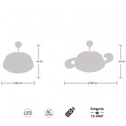 Medidas-ventilador-de-techo-led-serie-Selene