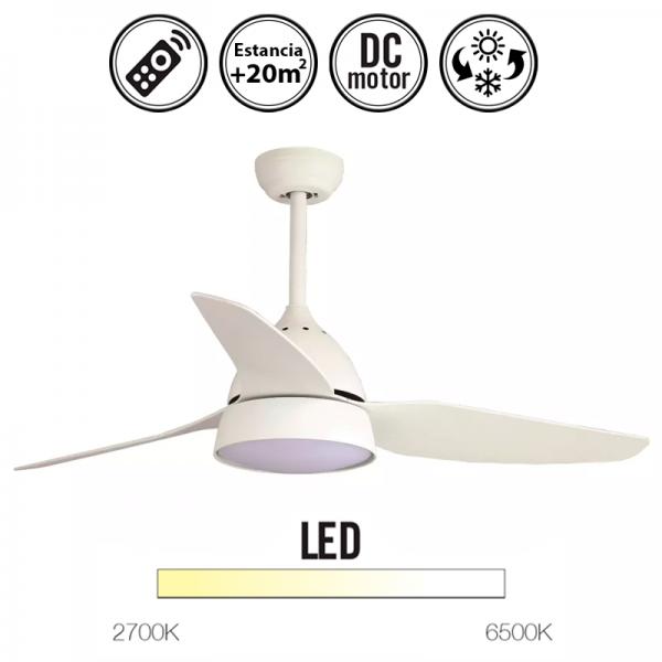 Portada-ventilador-de-techo-Brisa-luz-led-y-mando-incluido