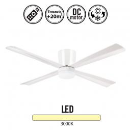 Ventilador-de-techo-serie-Malibu-blanco-con-luz