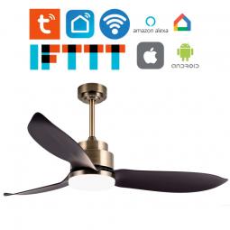 Ventilador de techo Wifi con luz Rodan