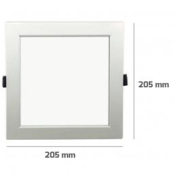 Downlight  Empotrable Cuadrado Led 25W RGB