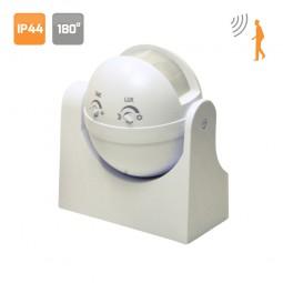 Detector de movimiento  180º Blanco