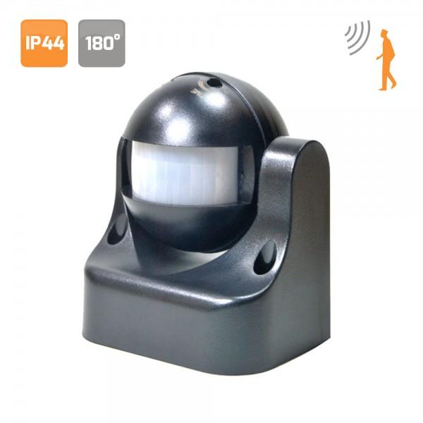 Detector de movimiento 180º negro