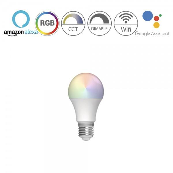 Bombilla inteligente RGB E27 13W 1521Lm Wifi