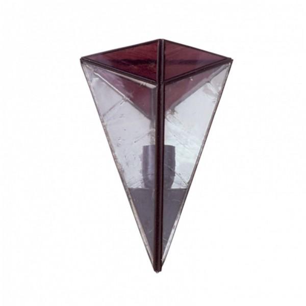 Aplique Piramide violeta 28x20