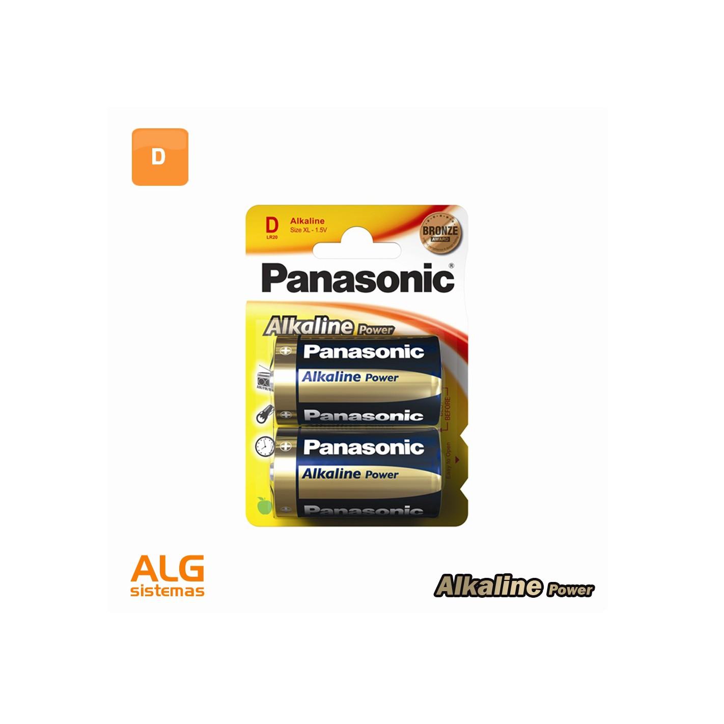 Extractor De Baño A Pilas:Pila Alcalina Panasonic Bronze LR20 (blister 2 pilas) – ALG SISTEMAS