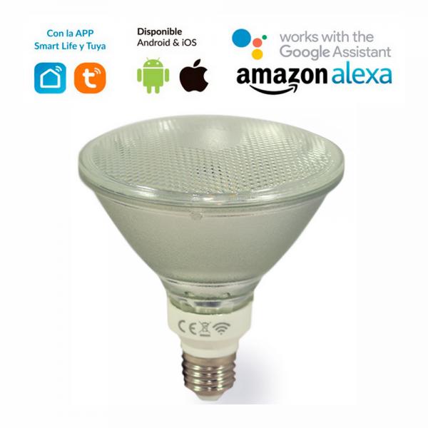 Bombilla LED WIFI PAR-38 12W RGB