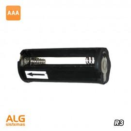 Portapilas sin cable 3 pilas R3 forma linterna