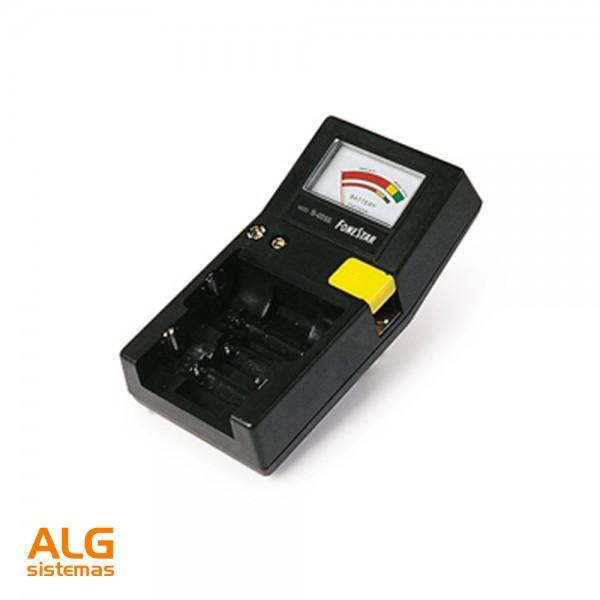 Extractor De Baño A Pilas:MATERIAL ELÉCTRICO > Pilas y baterias > Comprobador de pilas