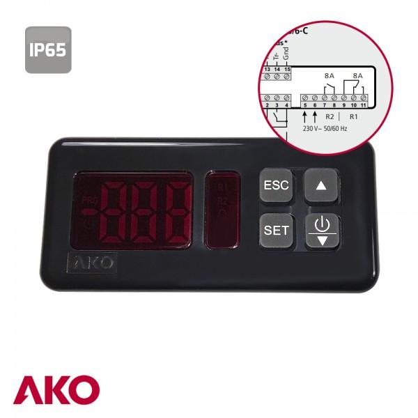 Termostato digital ako d14726 ebay - Termostato digital precio ...