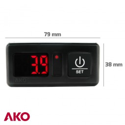 Termómetro digital AKO-D14023-C