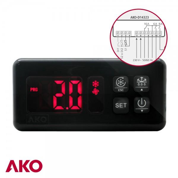 Termostato digital AKO-D14323