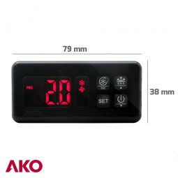 Termostato digital AKO-D14412-RC