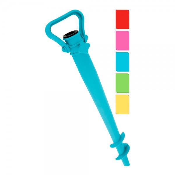 Estaca de plastico para sombrilla (colores surtidos)