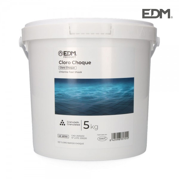 Cloro de choque 5 kg fusion  edm