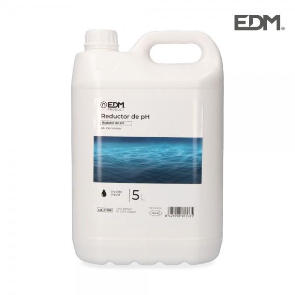 Reductor ph líquido 5 litros fusion  edm