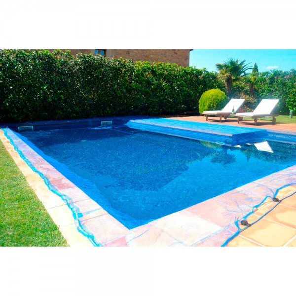 Malla para piscina 5x5m leaf pool cover