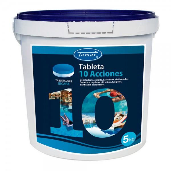 Cloro 10 acciones tableta 5kg fusion tamar
