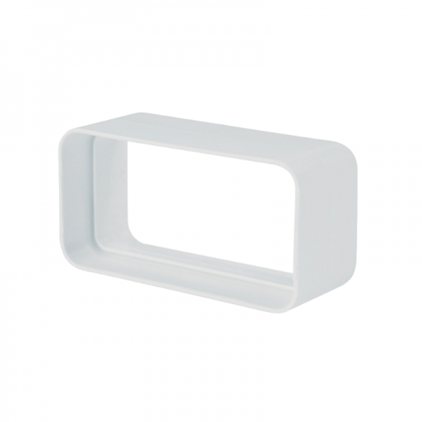 Junta rectangular blanca