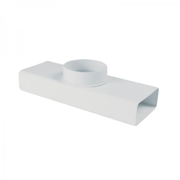 Derivación en T rectangular/ circular