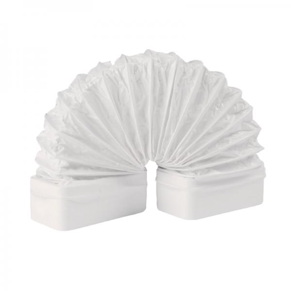 Manguito flexible rectangular blanco