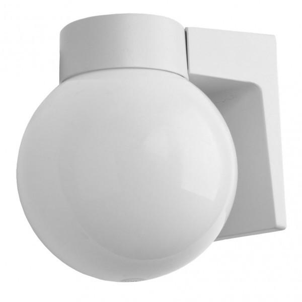 Aplique Exterior Aluminio Procyon 1xe27 Gris  18x18x15 Cm  Ip4
