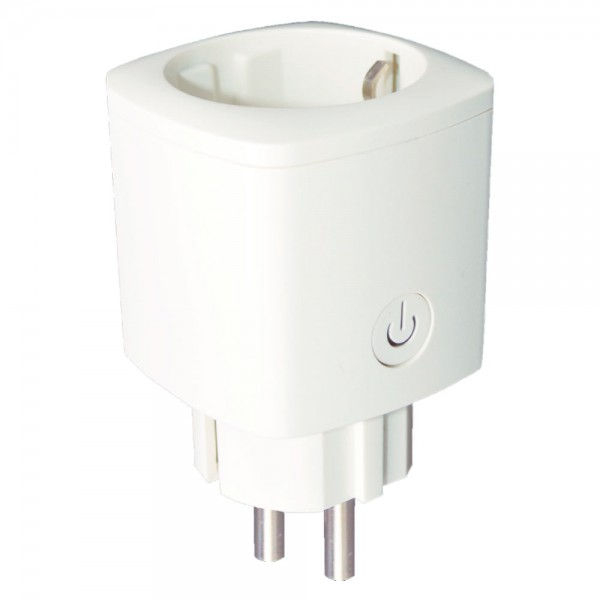 Enchufe inteligente WIFI 16A blanco