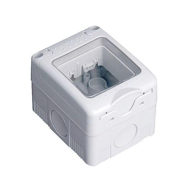 Caja estanca 2 modulos superficie IP 65