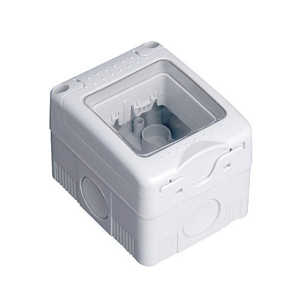 Iluminacion Estanca Baño: > Superficie modular > Caja estanca 2 modulos superficie IP 65