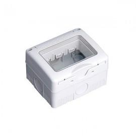 Caja estanca 3 modulos superficie IP 65