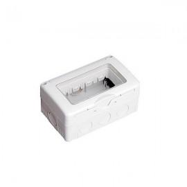 Caja estanca 4 modulos superficie IP 65
